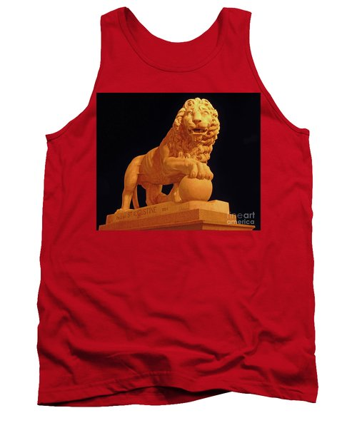 Night Of The Lion Tank Top