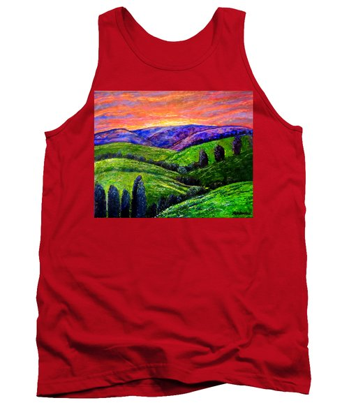 No Place Like The Hills Of Tennessee Tank Top by Kimberlee Baxter