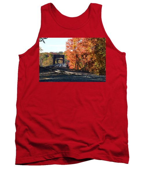 No Train Coming Tank Top