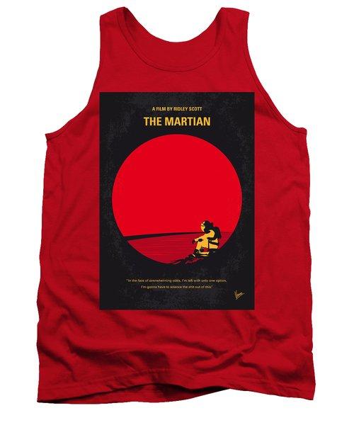 No620 My The Martian Minimal Movie Poster Tank Top