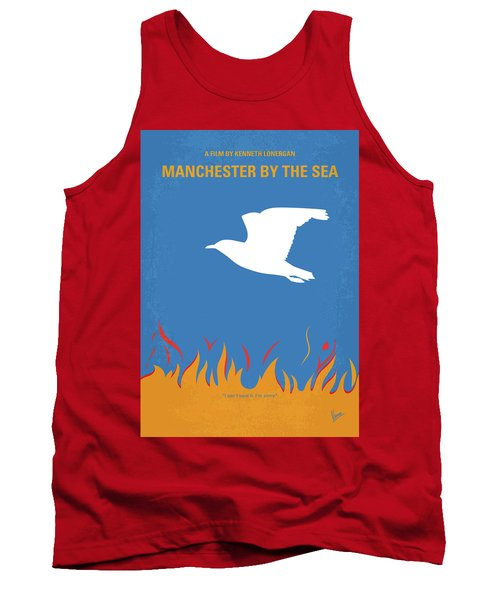 Tank Top featuring the digital art No753 My Manchester By The Sea Minimal Movie Poster by Chungkong Art