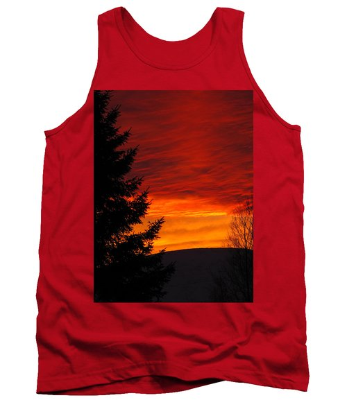 Northern Sunset 2 Tank Top