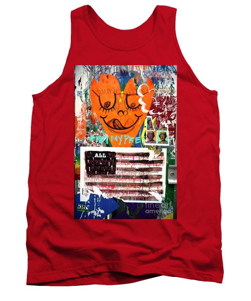 Tank Top featuring the photograph Not My President by John Rizzuto