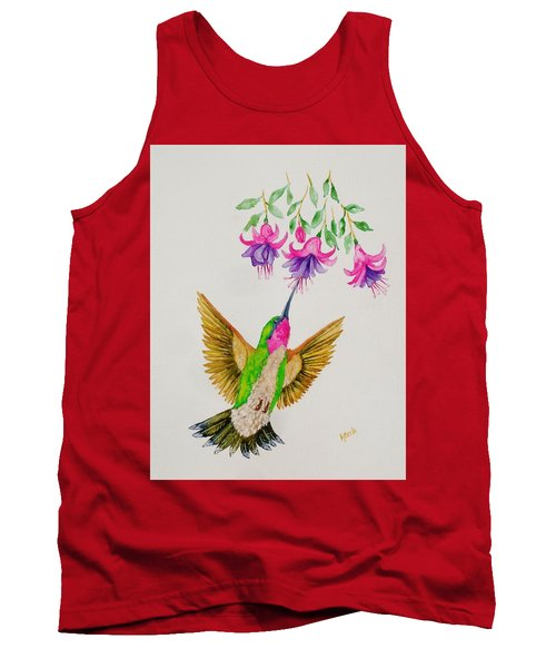 Tank Top featuring the painting Nourishment  by Katherine Young-Beck