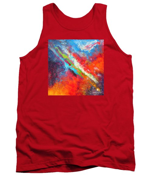 Fantasies In Space Series Painting. Nova Sonata Tank Top