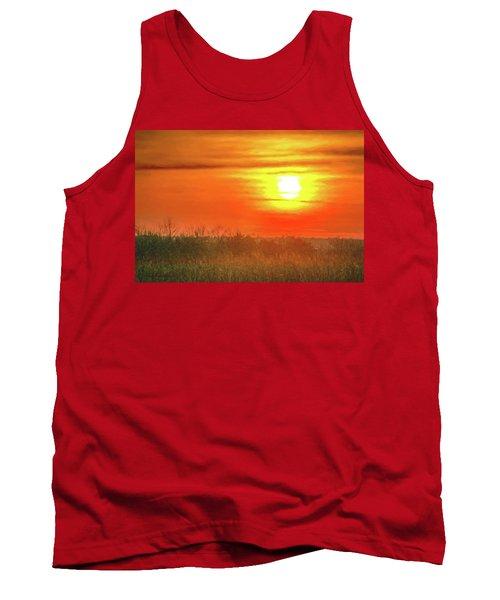 November Sunset Tank Top
