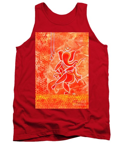 Nritya Ganesha- Dancing God Tank Top