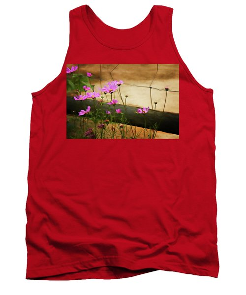 Tank Top featuring the photograph Oasis In The Desert by Lana Trussell