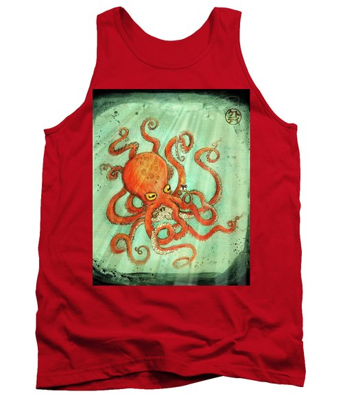 Octo Tako With Surprise Tank Top