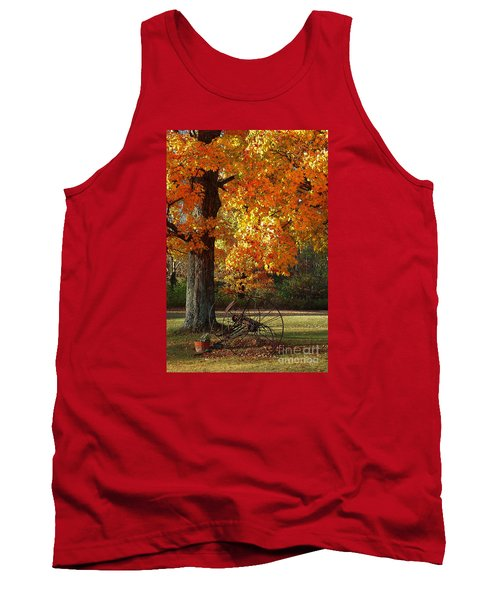 October Day Tank Top by Diane E Berry