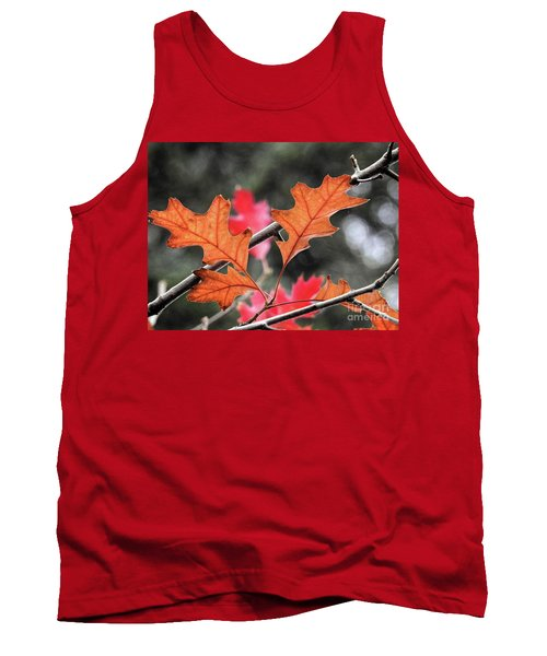 Tank Top featuring the photograph October by Peggy Hughes