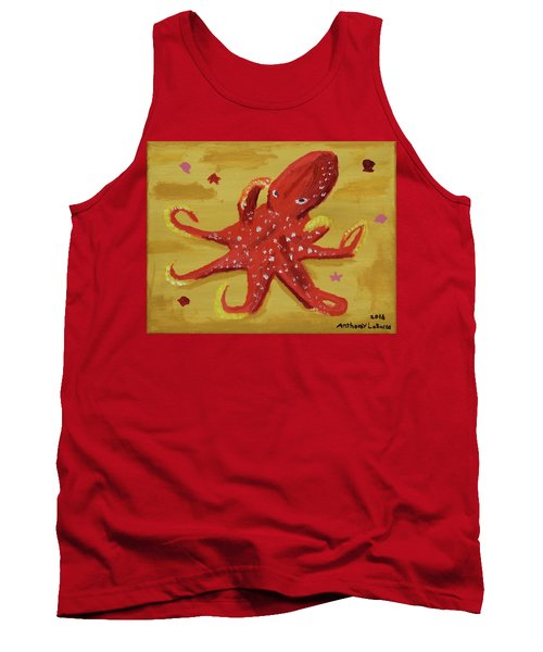 Octopus Tank Top by Anthony LaRocca