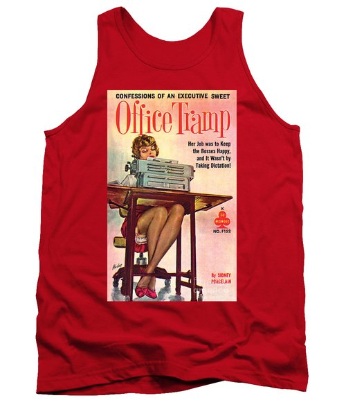 Office Tramp Tank Top