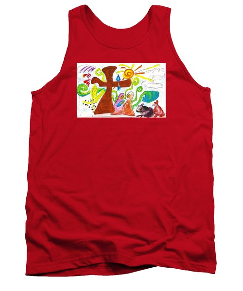 Oh Holy Night Tank Top by Martin Cline
