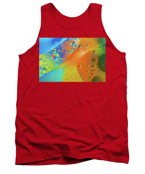 Oil And Water 10 Tank Top by Jay Stockhaus