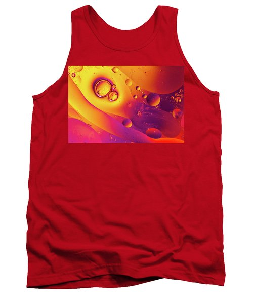 Oil And Water 8 Tank Top by Jay Stockhaus