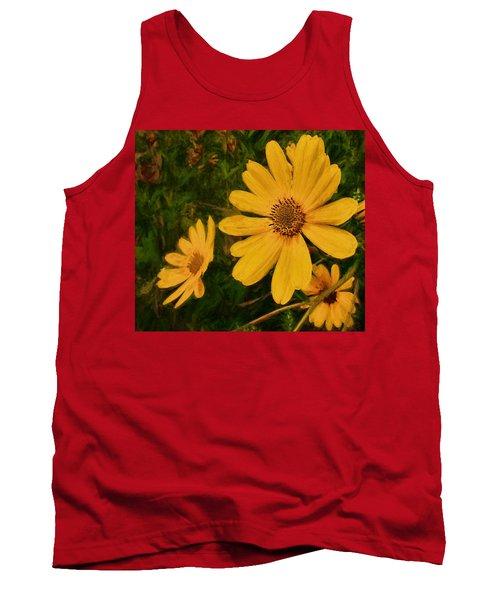 Oil Glaze Wildflowers Tank Top