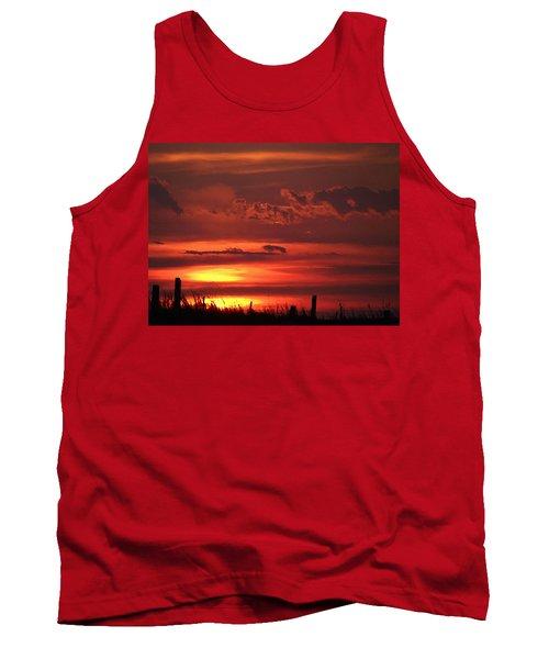 Oklahoma Sky At Daybreak  Tank Top