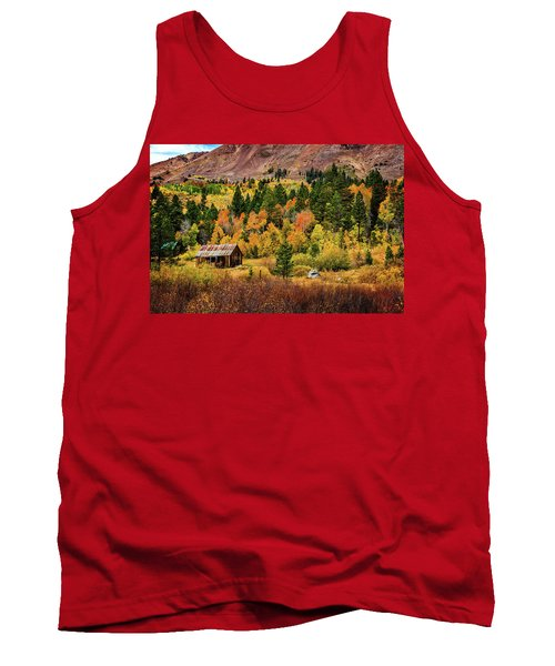 Old Cabin In Hope Valley Tank Top