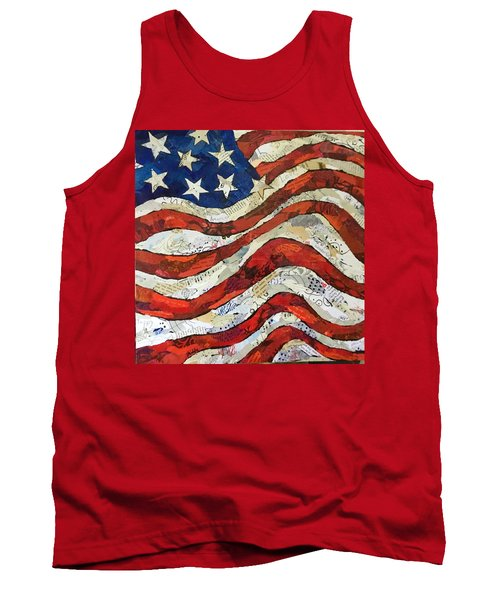 Old Glory II Tank Top