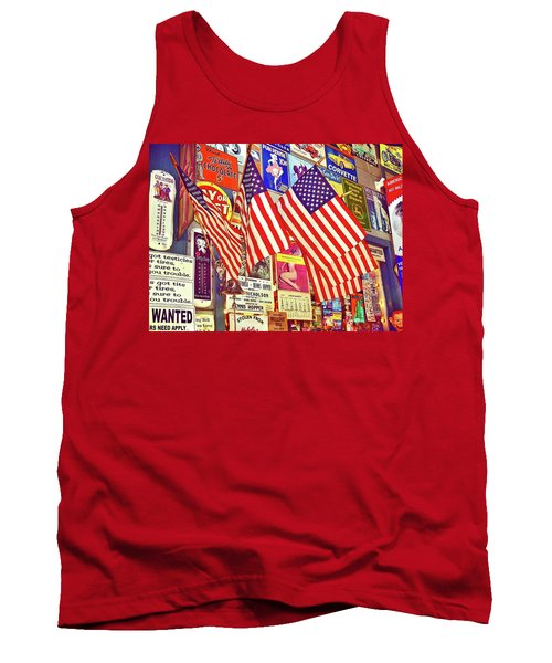 Old Glory Tank Top by Joan Reese