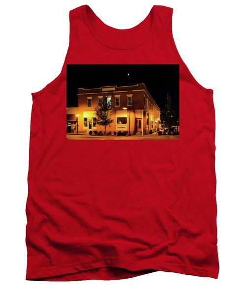 Old Hotel Moonlight Tank Top by Dale R Carlson