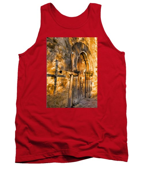 Old Mission Cross Tank Top