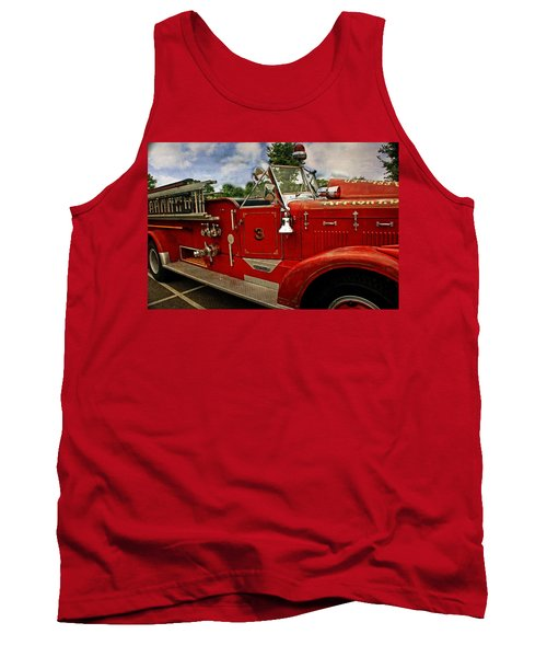 Tank Top featuring the photograph Old Number 3 by Marty Koch