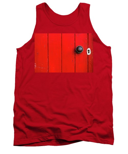 Old Red Door  Tank Top