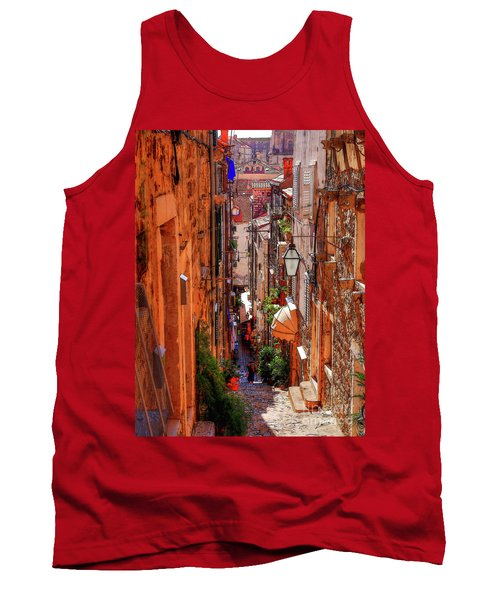 Old Town Dubrovniks Inner Passages Tank Top