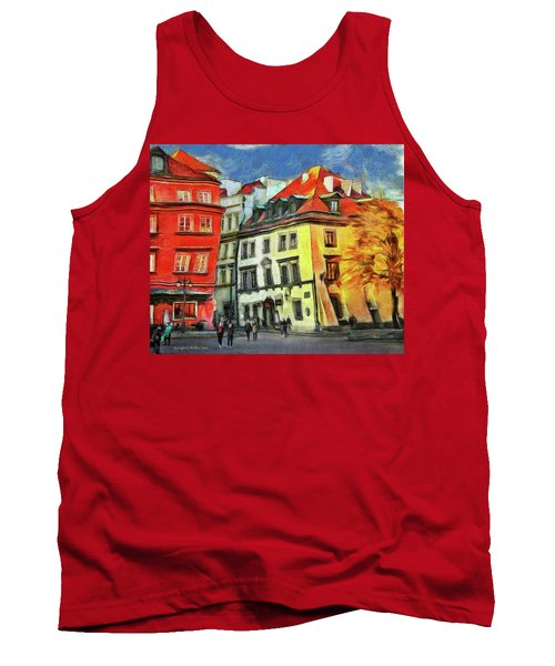 Old Town In Warsaw # 27 Tank Top