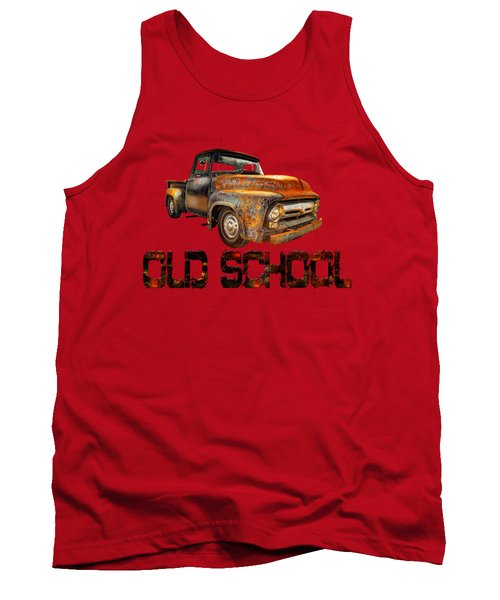 Old Truck Right Attitude Tank Top