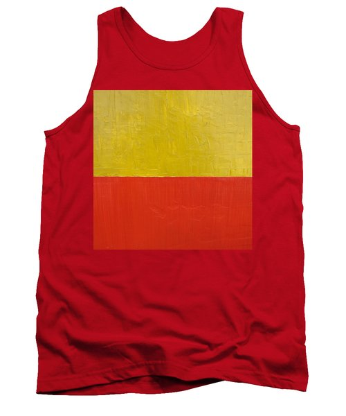 Olive Fire Engine Red Tank Top