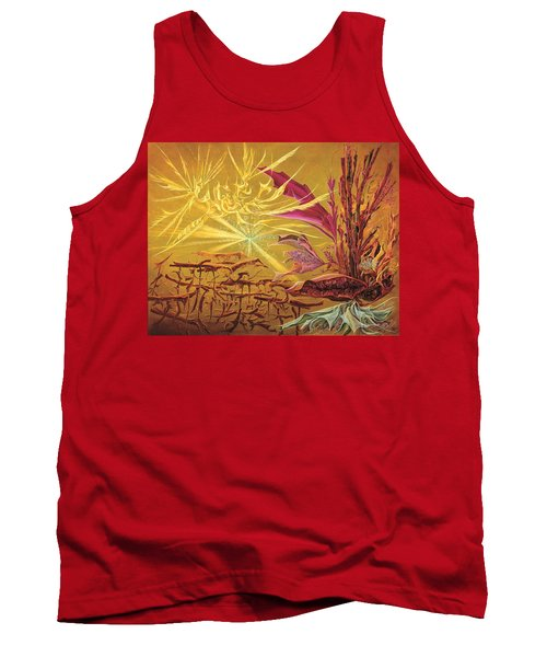 Olivier Messiaen Landscape Tank Top by Charles Cater