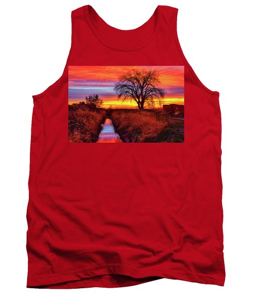 Tank Top featuring the photograph On The Horizon by Greg Norrell