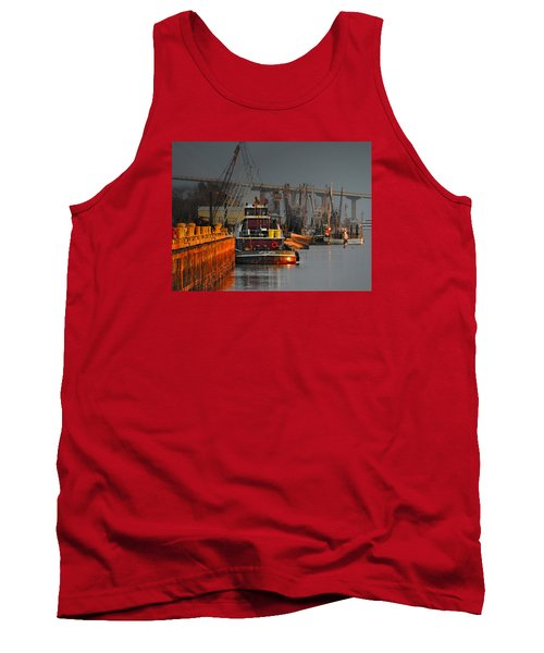 On The Waterfront Tank Top by Laura Ragland