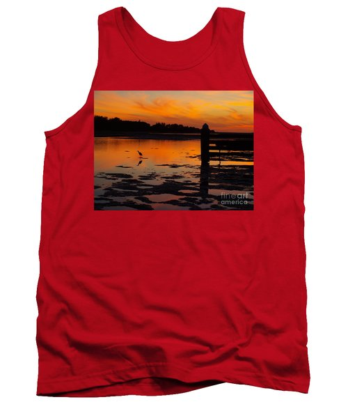 Tank Top featuring the photograph One Bird by Trena Mara