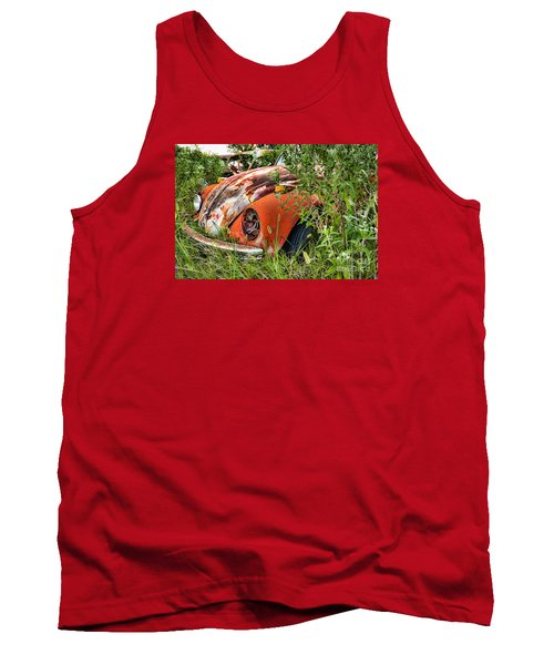 One Eyed Bug Tank Top by Lawrence Burry
