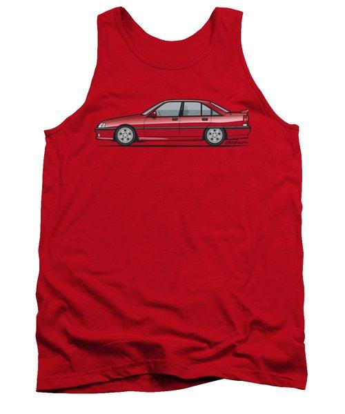 Opel Omega A, Vauxhall Carlton 3000 Gsi 24v Red Tank Top