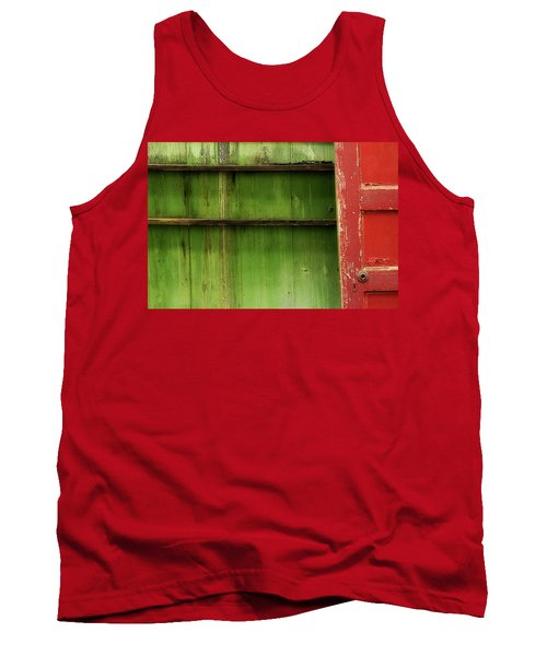 Tank Top featuring the photograph Open Door by Mike Eingle