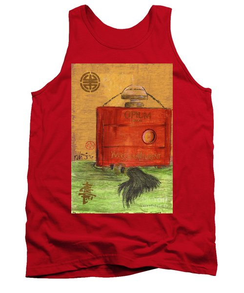 Tank Top featuring the painting Opium by P J Lewis
