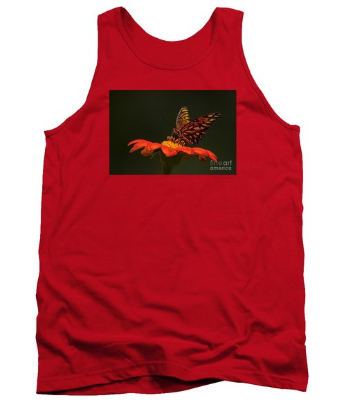 Tank Top featuring the photograph Orange Bliss by Barbara Bowen