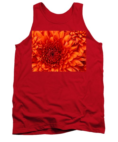 Orange Bloom Tank Top