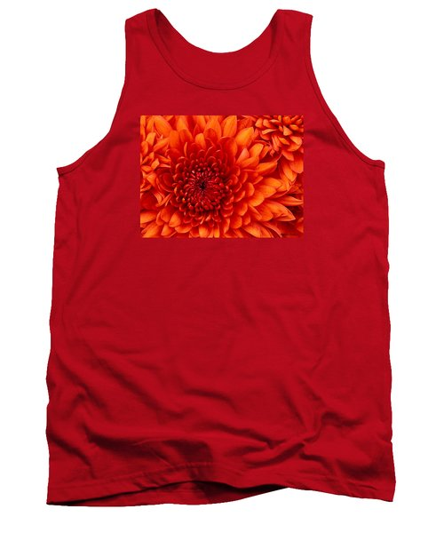 Orange Bloom Tank Top