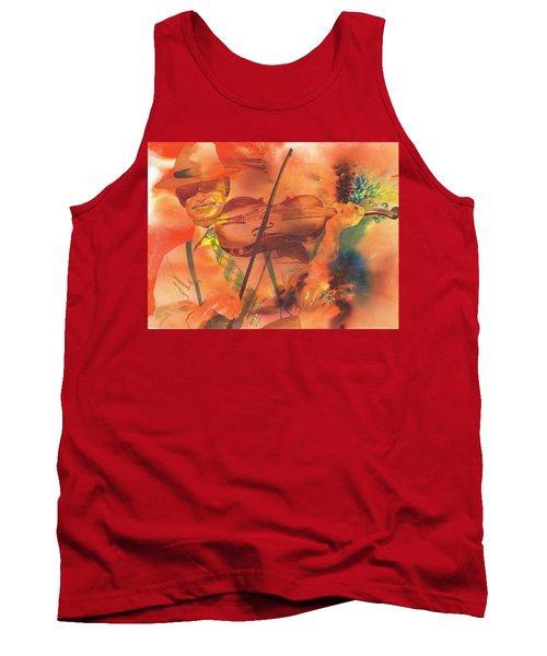 Orange Blossom Special Tank Top