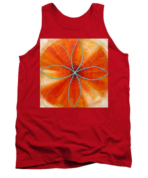 Orange Chakra Tank Top