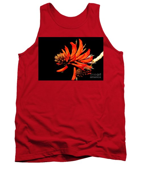 Tank Top featuring the photograph Orange Clover II by Stephen Mitchell