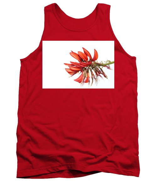 Tank Top featuring the photograph Orange Clover IIi by Stephen Mitchell