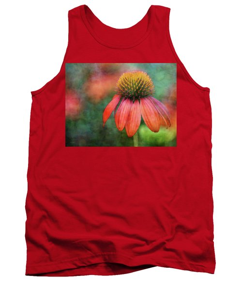 Orange Coneflower 2576 Idp_2 Tank Top