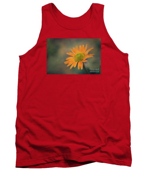 Orange Echinacea Dreams Tank Top